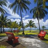 Jon Hicks - Parque De La Juventud on the Waterfront in Colon. Fotografická reprodukce