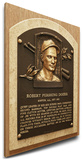 Bobby Doerr Baseball Hall of Fame Plaque on Canvas (Small) - Boston Red Sox Stretched Canvas Print