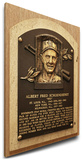 Red Schoendienst Baseball Hall of Fame Plaque on Canvas (Small) - St Louis Cardinals Stretched Canvas Print