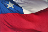 Chilean Flag Photographic Print by Jon Hicks