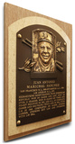 Juan Marichal Baseball Hall of Fame Plaque on Canvas (Small) - San Francisco Giants Stretched Canvas Print