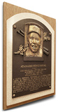 Tony Perez Baseball Hall of Fame Plaque on Canvas (Small) - Cincinnati Reds Stretched Canvas Print