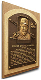 Willie Stargell Baseball Hall of Fame Plaque on Canvas (Small) - Pittsburgh Pirates Stretched Canvas Print