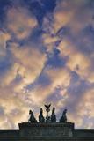Detail of the Brandenberg Gate Photographic Print by Jon Hicks