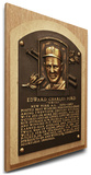 Whitey Ford Baseball Hall of Fame Plaque on Canvas (Medium) - New York Yankees Stretched Canvas Print