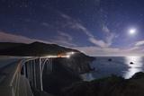 Bixby Bridge by Moon Light. Photographic Print by Jon Hicks