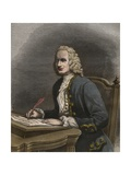 Portrait of Jean Philippe Rameau Giclee Print by Stefano Bianchetti