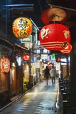 Narrow Street in Pontocho Photographic Print by Jon Hicks