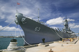 The Battleship Missouri Memorial Photographic Print by Jon Hicks