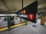 A Sign on the New York City Subway. Photographic Print by Jon Hicks