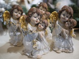 Christmas Ornaments for Sale in the Verona Christmas Market, Italy. Photographic Print by Jon Hicks