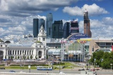 Moskva-City Photographic Print by Jon Hicks
