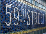 59Th Street Subway Station Sign. Photographic Print by Jon Hicks