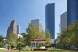 Sam Houston Park, Houston, Texas. Photographic Print by Jon Hicks