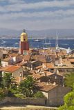 View across St.-Tropez from Citadelle Photographic Print by Jon Hicks