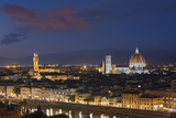 Florence Skyline at Sunset. Photographic Print by Jon Hicks