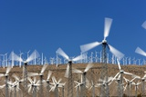 Wind Farm near Palm Springs. Photographic Print by Jon Hicks