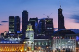 Moskva-City Skyline at Dusk Photographic Print by Jon Hicks