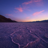 Badwater Basin at Dusk. Photographic Print by Jon Hicks