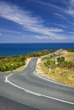 Coastal Road near Bells Beach and the Great Ocean Road Photographic Print by Jon Hicks