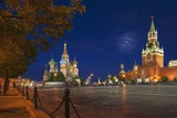 Red Square at Night. Photographic Print by Jon Hicks