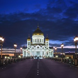 Cathedral of Christ the Saviour Photographic Print by Jon Hicks