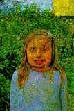 Little Girl and Garden. Photographic Print by André Burian