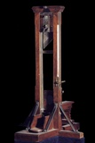 Reduced Model of a Guillotine (Wood and Metal) Photographic Print