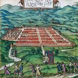 Cusco (Peru). 1576. Civitates Orbis Terrarum . Photographic Print by  Tarker