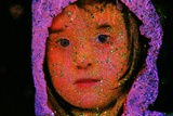 Little Girl with Pink Hood. Photographic Print by André Burian