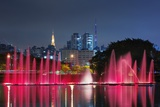The Ibirapuera Park Fountain, Sao Paulo. Photographic Print by Jon Hicks