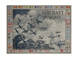Aircraft Insignia American WWII Identification Poster Giclee Print by David Pollack