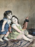Surprise Jack-In-The-Box Painting by Lobrichon C1897 Photographic Print by Chris Hellier