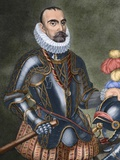 Gonzalo Fernandez De Cordoba (1453-1515). Engraving. Colored. Photographic Print by  Tarker