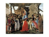 The Adoration of the Magi - Representation of the Medici Family Giclee Print