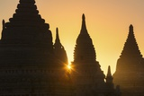 Sunset over Bagan Photographic Print by Jon Hicks