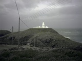 Lighthouse and Gales Photographic Print by Robert Brook