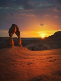 Delicate Arch in Arches National Park Photographic Print by Jon Hicks