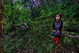 Girl and Nature Photographic Print by André Burian