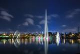 The Ibirapuera Park Fountain, Sao Paulo. Photographic Print by Jon Hicks