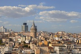 Galata Tower in Istanbul Photographic Print by Jon Hicks