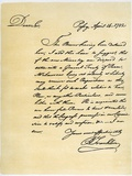 Letter from Benjamin Franklin to David Hartley Mp, 14Th April 1782.Artist: Benjamin Franklin Photographic Print