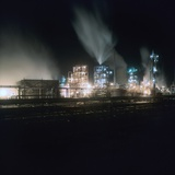 Petrochemical Factory Photographic Print by Robert Brook