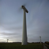 Wind Turbines Photographic Print by Robert Brook