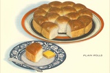 Plain Rolls Photographic Print by Found Image Press