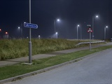 Roadside at Night Photographic Print by Robert Brook