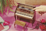 Music Box Shaped like Piano Photographic Print by Found Image Press