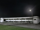 Bus Station at Night Photographic Print by Robert Brook