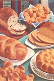 Rolls and Breads Photographic Print by Found Image Press
