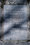 W.B. Yeats, Ireland Photographic Print by Alain Le Garsmeur